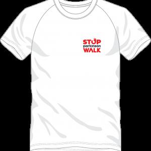 T-shirt voor stop parkinson walk
